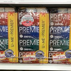 Premier 200 sheets 2-ply Tissues (Free Premier Pocket Tissues 5x10 sheets)