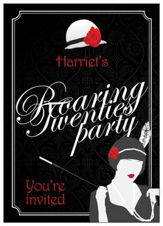 Roaring 20's Parties-must have one of these one day