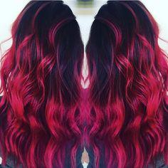 Fuchsia hair 🎀