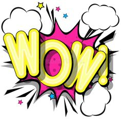 Stock Vector - Illustration of phrase, cool: 114151003 Wow Image, Pop Art Images, Graffiti Words, Cartoon Clouds, Halftone Pattern, Good Night Greetings, Pop Art Illustration, Pop Art Design, Word Art