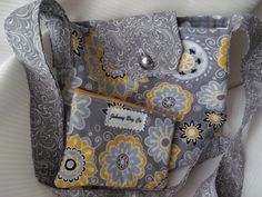 Totey Tote With Matching Pouch by GusandBeckys on Etsy