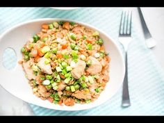 Chinese takeout may be a preferred weekly meal for your family, but this lightened-up version of chicken fried rice could easily replace that high-calorie, -fat and -sodium to-go order. This is also the perfect way to sneak veggies onto your little ones' plates. They'll never notice they're eating [...]