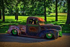 1941 Ford Pickup Patina - Rat Rod