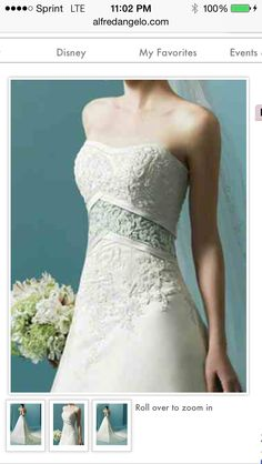 Another view of Alfred Angelo style 1708