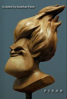 Syndrome expression sculpt by Jonathan Paine
