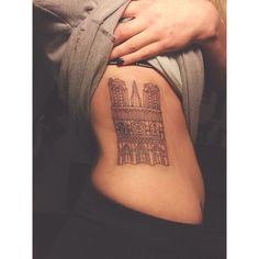 1000 ideas about paris tattoo on pinterest underboob for Notre dame tattoos