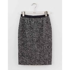 Boden Freya Pencil Skirt ($138) ❤ liked on Polyvore featuring skirts, checkered skirt, knee length pencil skirt, herringbone pencil skirt, tweed skirts and checkerboard skirt