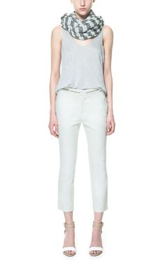 chinos and summer whites