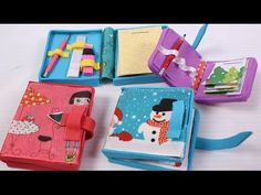 How to make miniature Doll Diary: doll school supplies - YouTube