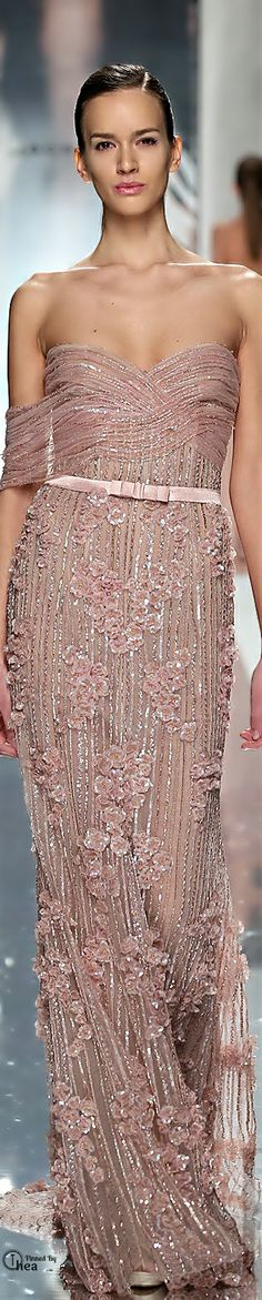 Jack Guisso ● Couture Beaded Gown