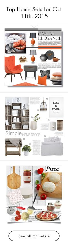 """""""Top Home Sets for Oct 11th, 2015"""" by polyvore ❤ liked on Polyvore featuring interior, interiors, interior design, home, home decor, interior decorating, Sefte, Pastel, Blu Dot and Dot & Bo"""
