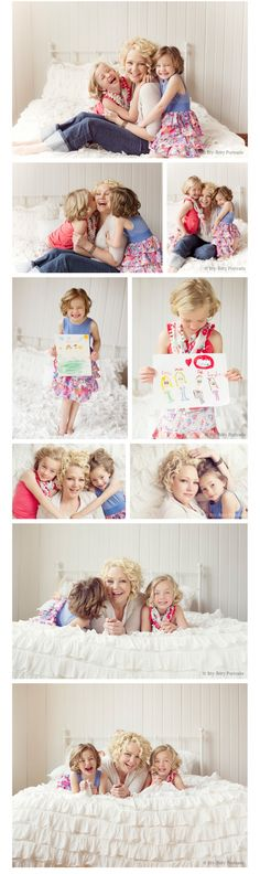 #family photography   Mother's day Mini session,  Mom and daughters, ittybittyportraits.com