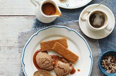 Chocolate ice cream with caramel sauce recipe - goodtoknow