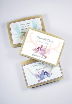 Learn how to make DIY Wedding Soap Favors and unique DIY Save the Date Soaps plus two homemade soap recipes for mango & coconut milk soaps! Plus a tutorial on how to make custom soap labels step by step!