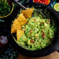 Guacamole Recipe Discover Small Batch Guacamole Recipe Video Learn to make authentic guacamole recipe thatll be a hit all summer long! Gourmet Recipes, Mexican Food Recipes, Vegetarian Recipes, Dinner Recipes, Cooking Recipes, Healthy Recipes, Ethnic Recipes, Authentic Guacamole Recipe, Guacamole Recipe Easy
