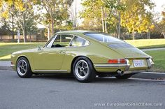 1967 Porsche 911 Sunroof Coupe