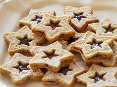 Alex Guarnaschelli's Linzer Star Sandwich Cookies #12DaysOfCookies
