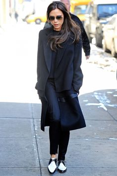 Victoria Beckham Does Off-Duty Style Like A Pro Out And About In New York, 2014