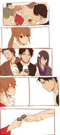 Tags: Hijikata Toushirou, Okita Sougo, hijioki, okihiji, Gintama, Gintama movie yorozuya forever