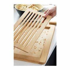 Ikea - Tabla De Corte Con Cuchilla Inc Befriande Haya Maciza