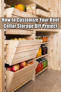 How to Customize Your Root Cellar Storage DIY Project