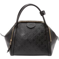 Pre-owned Louis Vuitton Leather Handbag (23.430.880 IDR) ❤ liked on Polyvore featuring bags, handbags, black, man bag, louis vuitton handbags, preowned handbags, louis vuitton bags and genuine leather purse