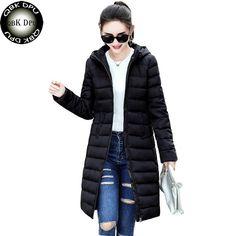 Women's Clothing Jackets & Coats Hot Girls 2016 Autumn Winter Warm Jackets Women Warm Fashion Hooded Long Coat Jacket Windbreaker Parka Outwear