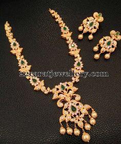 3000 Rupees 1 Gram Gold Necklaces