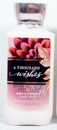 A Thousand Wishes Body Lotion New Sealed 8 by CraftyCreations11111