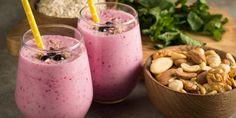 5 batidos de avena fáciles y rápidos Healthy Milkshake, Milkshake Recipes, Smoothie Diet, Smoothies, All Body Workout, Natural Detox Drinks, Fat Burning Detox Drinks, Healthy Shakes, Home Food