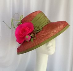 Summer in the Hamptons by Lisa Farrell Millinery #millinery #judithm #hats