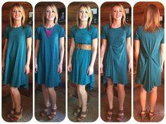 How to wear a LuLaRoe Carly #lularoecarly