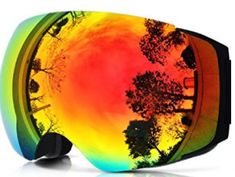 ZIONOR Ski Snowboard Snow Goggles Magnet Dual Layers Lens Spherical Design Anti-fog UV Protection Anti-slip Strap for Men & Women - Fit Lifestyle Store Best Ski Goggles, Snowboard Goggles, Ski And Snowboard, Snowboarding, Summer Vacation Spots, Fun Winter Activities, Best Skis, Winter Hiking, Winter Fun