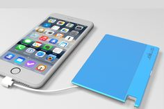Slimger - Ultra Slim Charger For Mobile Devices. The world's slimmest charger for iPhone and Android Devices with a built-in Micro USB cable or Lightning cable, So You Never Have To Carry Around Any Extra Cables. - https://www.indiegogo.com/projects/slimger-ultra-slim-charger-for-mobile-devices/x/3710900