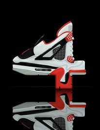 It really is all about the shoes, even in typography — Designspiration