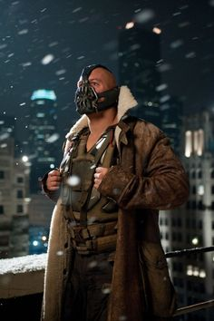 """Is it weird that the one thing I kept thinking during """"The Dark Knight Rises"""" is that I wanted to raid Bane's closet?"""