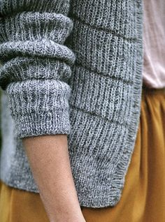 detail : knit pattern by Helga Isager