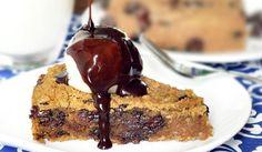 Deep-Dish Cookie Pie -- Vegan Recipe Challenge | www.lovesweetfreedom.co.uk
