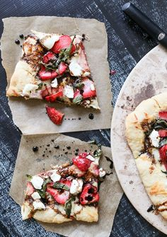 strawberry basil piz