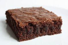 "Brownie met ""Dragon Pearl Jasmin""! Voor recept, zie www.or-tea.be!"
