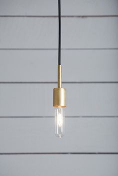 Brass Pendant Light - Mid Century | Industrial Light Electric
