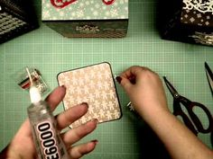 ▶ Boxed Accordion Decorating Series Part 1 - YouTube