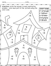 math worksheet : halloween themed activity for math centers  4 in halloween games  : Halloween Themed Math Worksheets