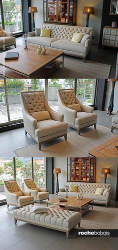 3d sofa fauteuil epoq roche bobois for Divan fauteuil
