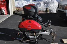 La construcción de un solo remolque rueda - Stromtrooper Foro: Foros Suzuki V-Strom motocicleta