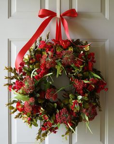 Summer Wreath Petunias Red Petunias Petunia by Hobby4Crafts