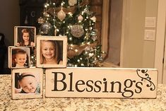 these photo blocks would make a really cute christmas gift (for the grandparents!?)... includes tutorial