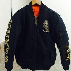 e9a7b4b15d95 VerSace Bomber jacket . MEN SIZE SMALL . Brand new. Versace Fashion,  Versace Men. Depop