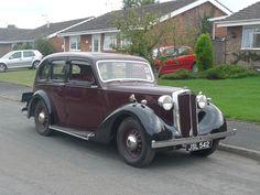 Lanchester LA14 Roadrider 1939 Vintage Cars, Antique Cars, Vintage Items, Jaguar Daimler, Road Transport, Civil Aviation, Made In Uk, Great British, Old Cars
