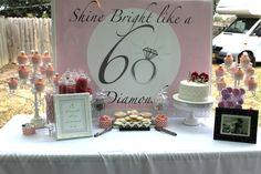 "Photo 3 of 11: diamonds / Birthday ""60th birthday party"" | Catch My Party"